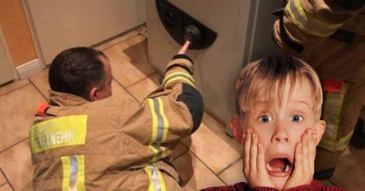 Cover Niño jugaba a las escondidas y se encerró en una caja fuerte