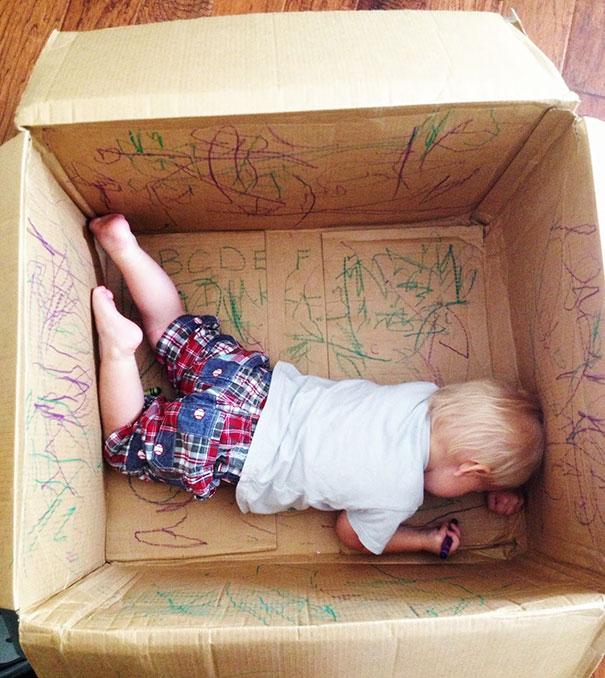 caja niño