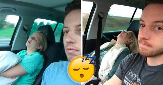 Cover Documentó cada viaje con su esposa: siempre duerme