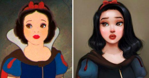 Cover Esta ilustradora mejoró a tus personajes favoritos de las caricaturas