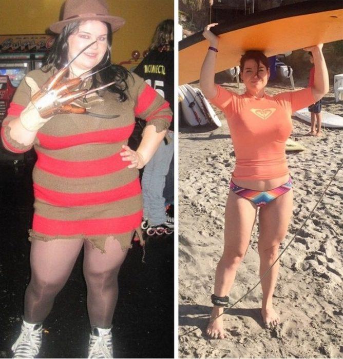 Ex gordos ex flacos, un cuerpo equilibrado