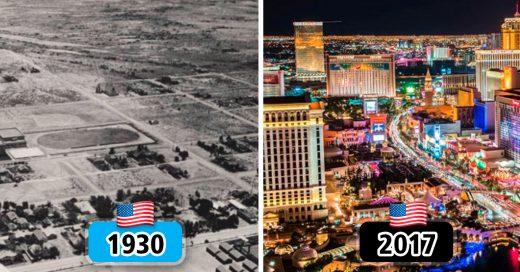 Cover Mira cómo lucían estas ciudades hace varios años