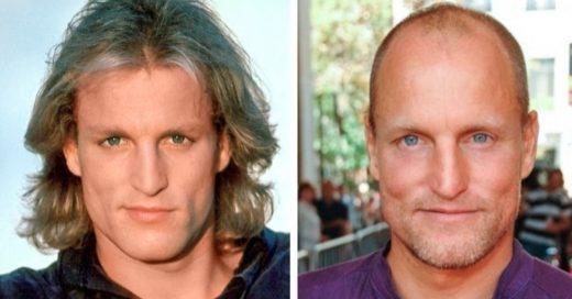 Cover cómo han cambiado los actores desde que inciaron su carrera