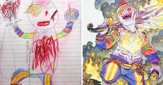 Cover sus dibujos los convierte en algo genial