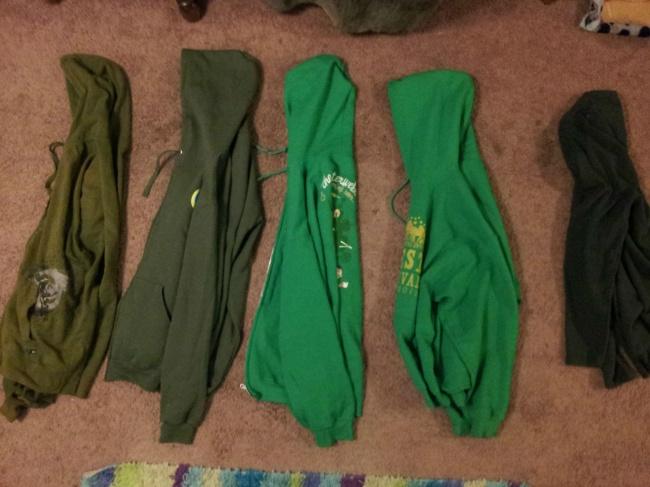 sudaderas verdes