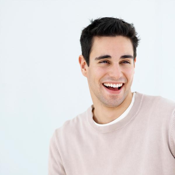 sonrisa hombre