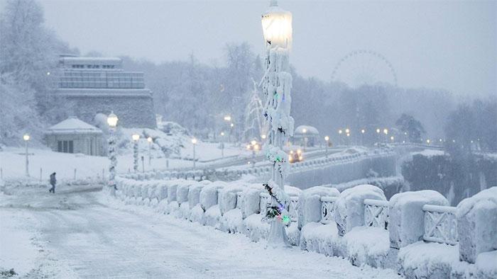 camino congelado