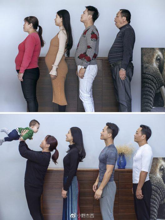 familia enflacó