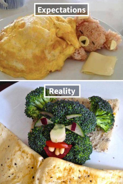 osito comida