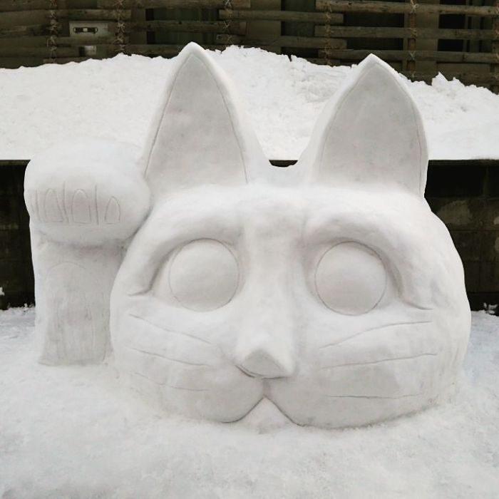 nieve gato
