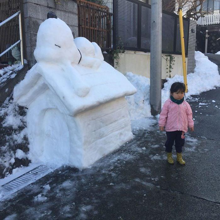 nieve snoopy