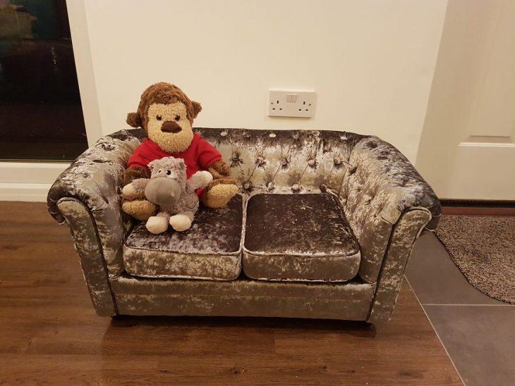 sillón para perrito