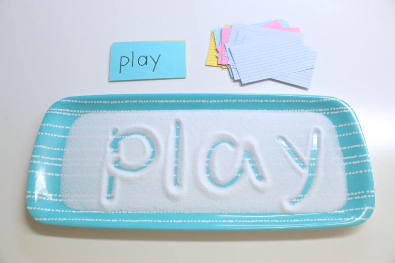 Play, aprende a esciribr con sal
