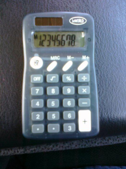 Calculadora sin #1
