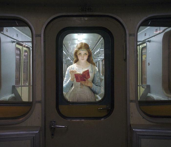 pintura metro