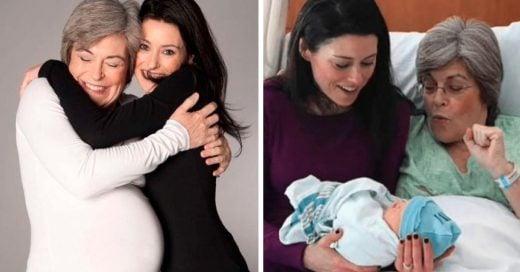 Cover Mujer de 61 años llevó en su vientre a su nieto