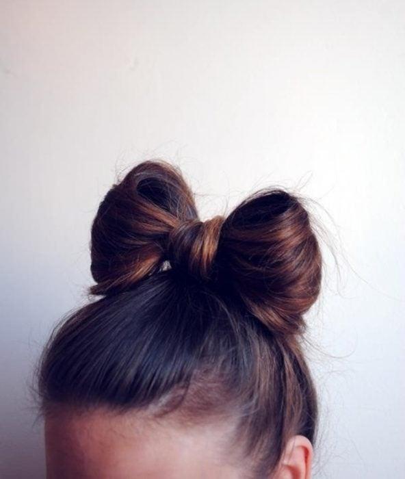 peinado moño