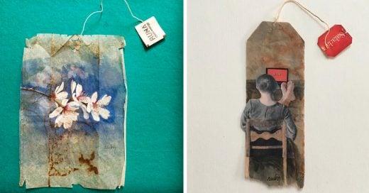 Cover Arte en bolsas de té