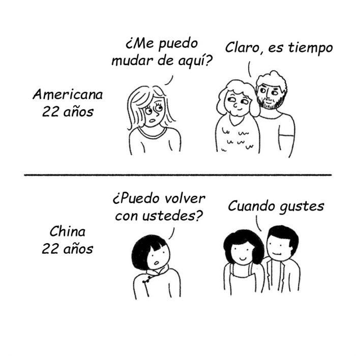 caricatura de chinos