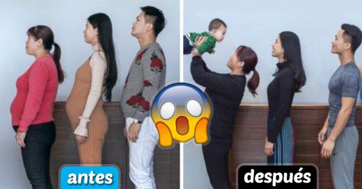 Cover Familia china se ejercitó por 6 meses y el cambio es sorprendente