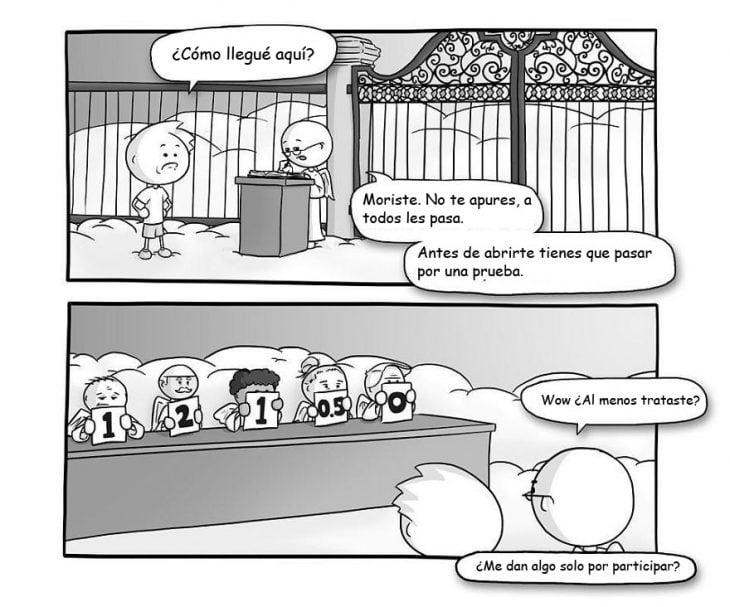 comic sobre la vida