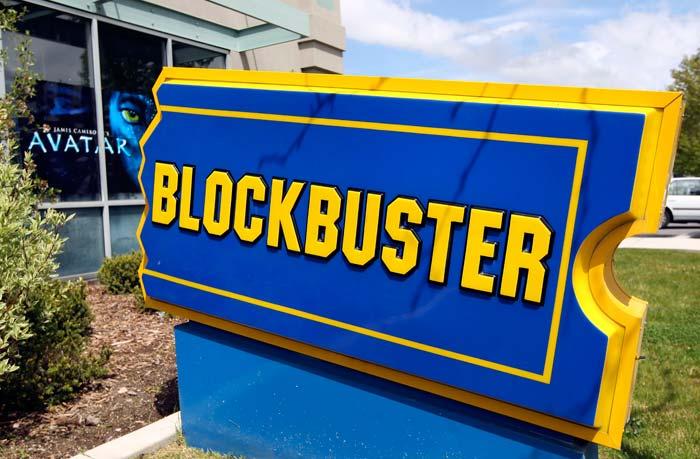 letrero publicitario con color azul y amarallio