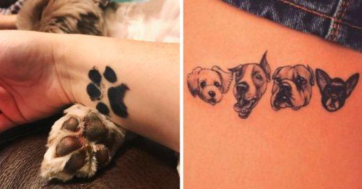 Cover Los tatuajes son una forma especial de crear vínculos con tu mascota