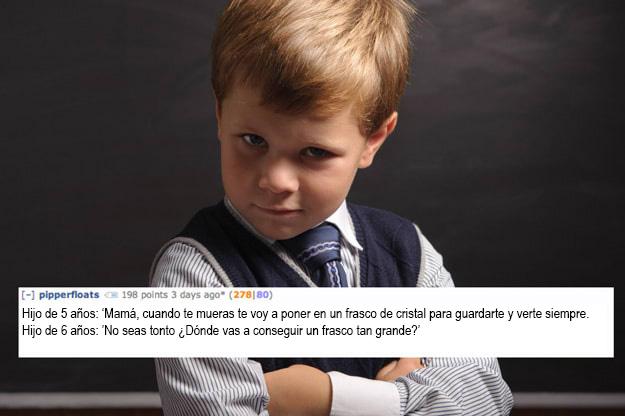 frase de niños