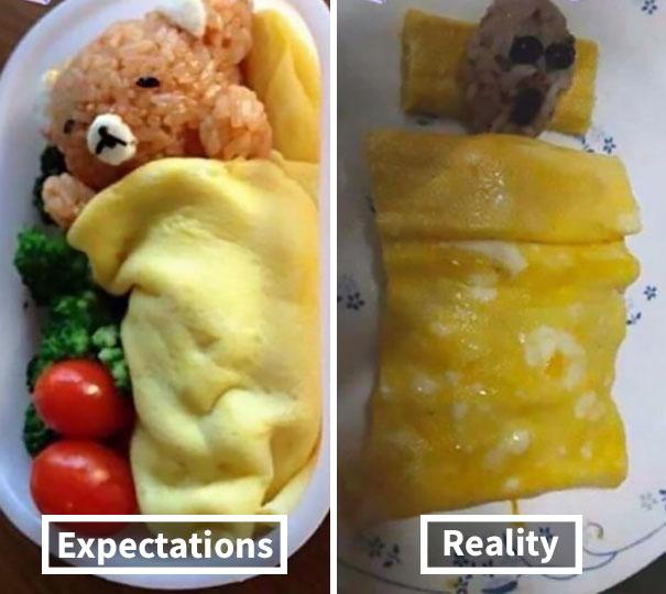 comida irreal