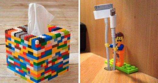 Cover formas de utilizar los legos