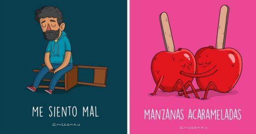 Cover humor gráfico creado por Inges Bizama Toledo
