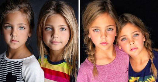 Cover Tienen 7 años y son las gemelas más hermosas de todo el mundo