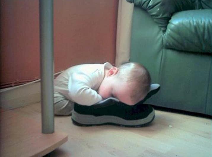 niño zapato