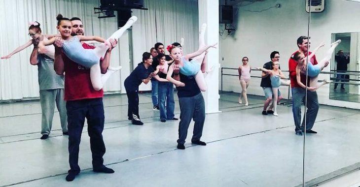 clases de baile para padres e hijas