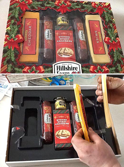 paquete falso