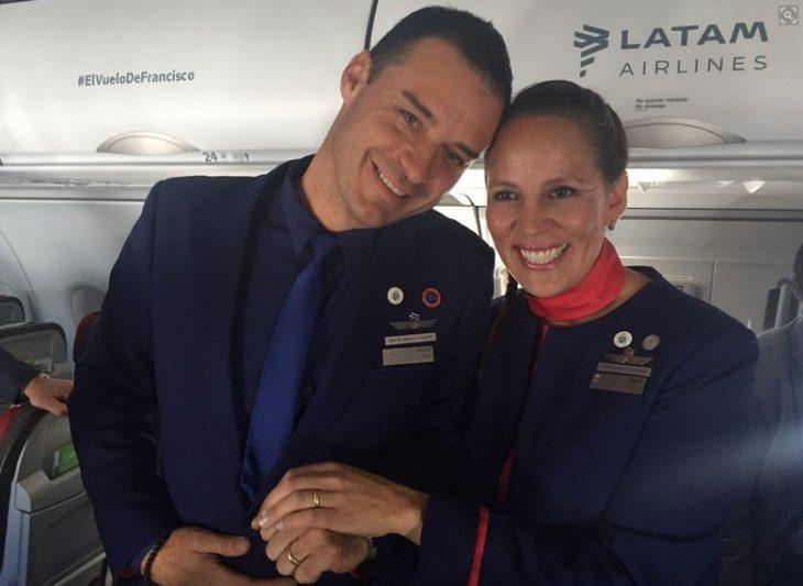 boda en avión