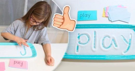 Cover Te encantará esta sencilla técnica para que tus hijos aprendan a escribir