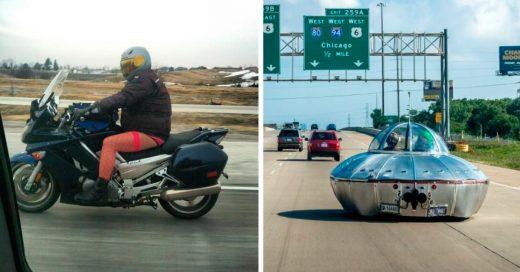Cover 15 de los más bizarros encuentros en las carreteras