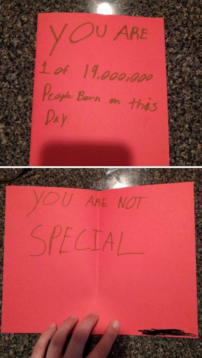tarjetas graciosas incómodas