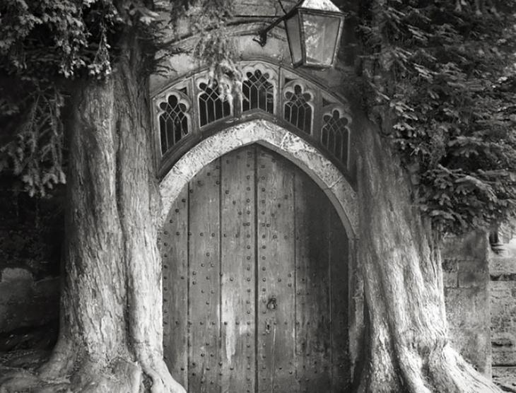 puerta con razi