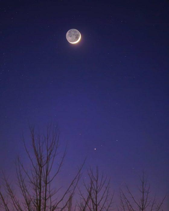La belleza de la luna