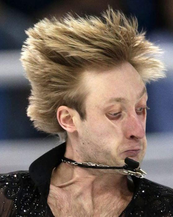 Caras del patinaje- cara velocidad