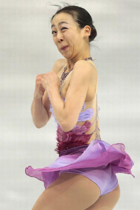 Caras del patinaje- vuelta mujer