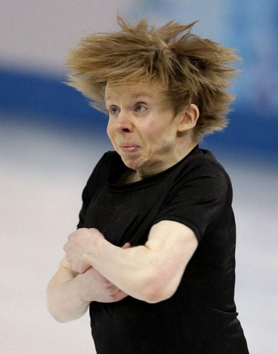 Caras del patinaje- vuelta cara duendecillo