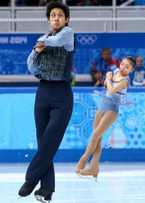 Caras del patinaje- bizco