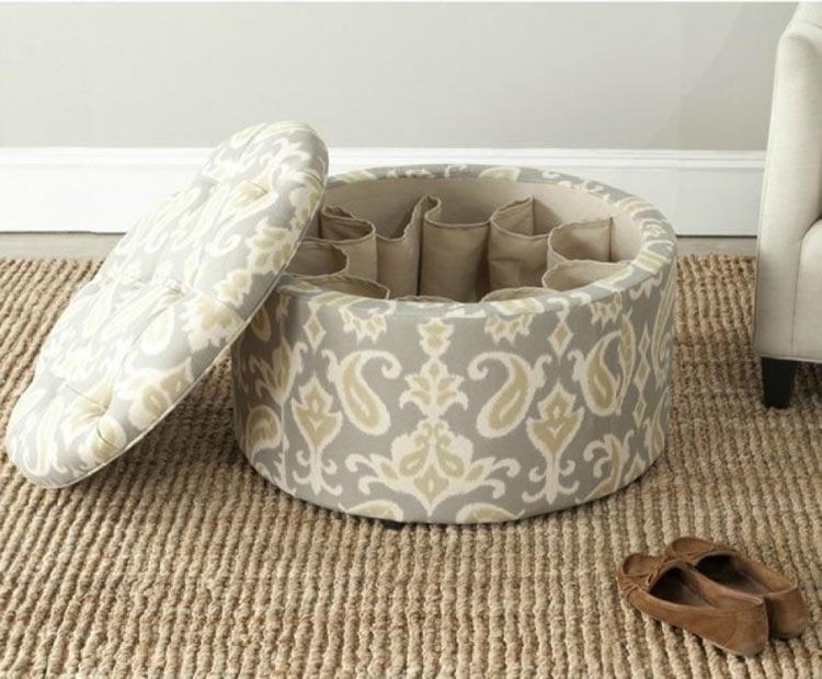 Ideas para espacios pequeños sillón con compartimento interior