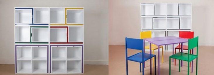 Ideas para espacios pequeños sillas y mesa compactas