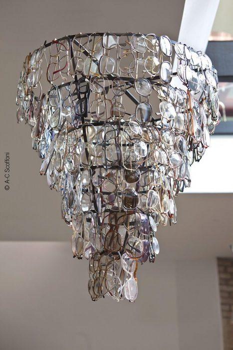 lámpara lentes
