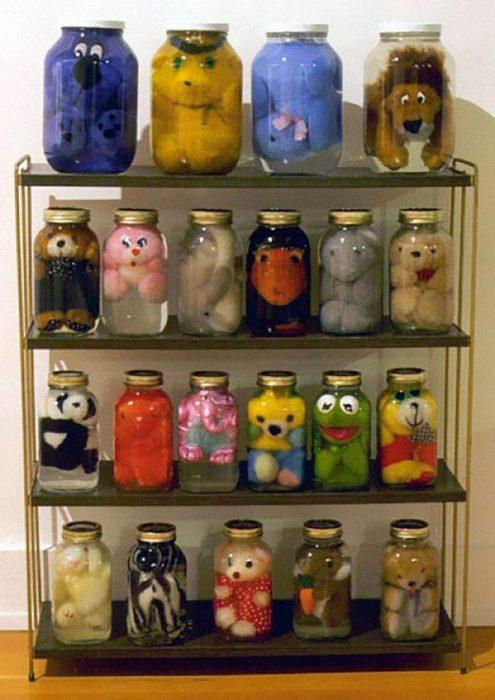 jarrones muñecos