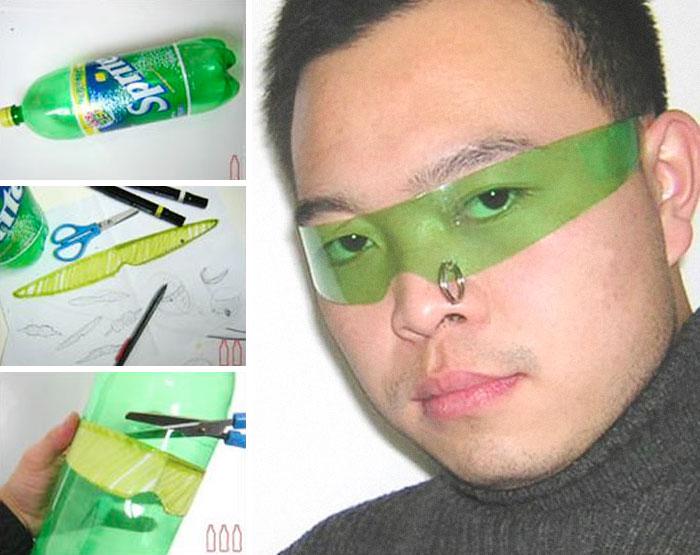 lentes verdes